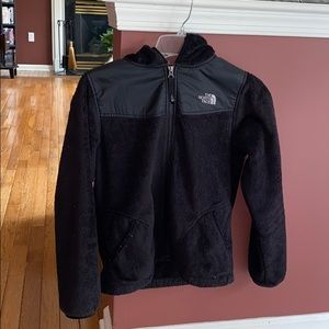 The North Face Denali II hooded microfleece jacket